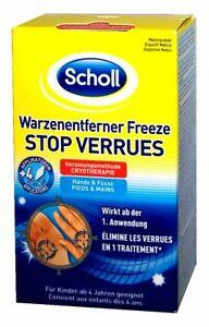 Scholl Freeze Warzenentferner / Warzen Vereisung für Hände und Füße 80ml