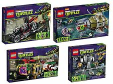 Lego ® Teenage Mutant Ninja Turtles set 79101+79104+79105+79115+79116+79117+79121