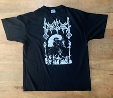 MOONBLOOD RARE VINTAGE shirt mgla satanic warmaster veles varg goatmoon taake