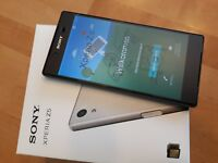 Sony Xperia Z5 32GB // Farben Weiss + Gold + Schwarz + Grün / mit Folie / in Box