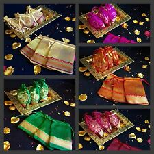 10* Table Decoration Bid Mehndi Wedding Favour Gift Bag-Indian Wedding Accessory