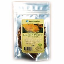 Certified Organic DANDELION RAW ROOT ~ 50g HERBAL TEA Premium ~ Dried Herbs