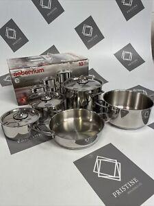 Aeternum Divine Pot Set, New Incomplete. Pots And Pans