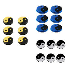 18Pc Silicone Yin Yang Vibration Dampeners for Tennis Squash Racket Absorber