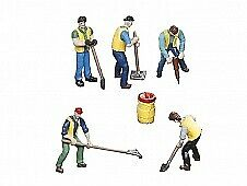 Lionel 6-83171 O MOW Workers and Barrel Figures (Set of 5)