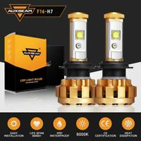 2X AUXBEAM H7 LED Headlight Kit Light Bulbs Lamp 6000LM 60W White Beam 6000K