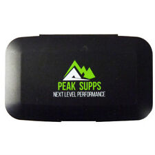 Peak Supps Pillbox | Daily Weekly Planner | Tablet Holder | Storage | Medicine