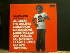 WE GOT SOUL Various  LP  Al Green Ann Peebles  etc   1974    Near-mint !