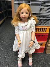 Monika Levenig Vinyl Puppe 103 cm. Top Zustand