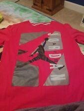 Boys Size Medium Red Jordan Shirt