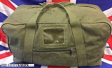Genuine British Army Issue Vintage Heavy Duty Canvas Deployment Holdall Kit Bag