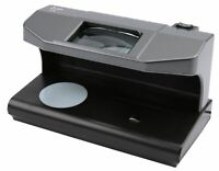 OLYMPIA UV 588 Geldscheinprüfgerät mit Magnetsensor und Wasserzeichentest 2x 3W