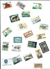 BIG LOT OF STAMPS FROM NEW ZEALAND (2500 )