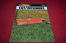 New Idea 279 272 Cut Ditioners Haybine Dealer's Brochure YABE10