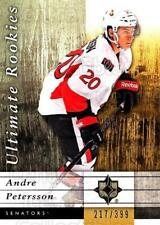 2011-12 UD Ultimate Collection #91 Andre Petersson