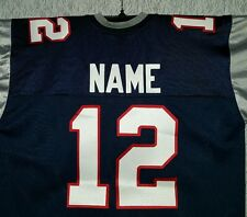 #00 New England Patriots Football Jersey Name&Number -SEWN-ON.4XL,5XL,6XL,7XL.