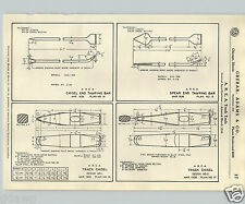 1937 PAPER AD Track Punch Chisel Spec Specification Detail Drawing Railroad Tool