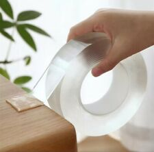 Nano magic tape double sided Transparent no trace reusable waterproof tape