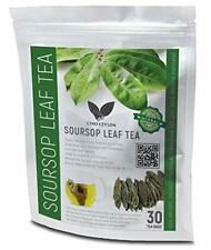 100% Pure SOURSOP/GRAVIOLA/GUANABANA TEA LEAF 30 BAGS (Annona muricata)