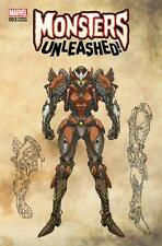 Monsters Unleashed #3 Leinil Yu Wrap Around Variant NM