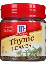 McCormick Thyme Leaves Spice Kitchen Seasoning
