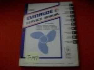 VINTAGE 1980 EVINRUDE OUTBOARD SERVICE MANUAL 85 100 115 140 HP V-4 MODELS