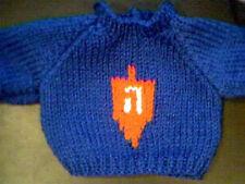Custom Hanukkah Jewish Dreidel Sweater Handmade for 16 inch Cabbage Patch Kid