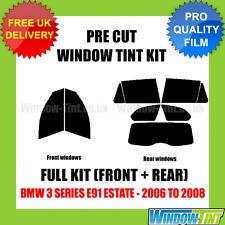 BMW 3 SERIES E91 ESTATE 2006-2008 FULL PRE CUT WINDOW TINT KIT