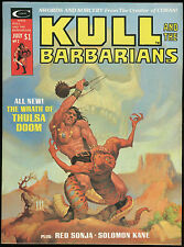 Kull and the Barbarians 2 Magazine Robert Howard REH Red Sonja Jess Jodloman art