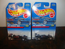 "Hot Wheels--Lot Of 2--Hot Wheels 500 #244--""2 Variations""--Racer & Tampos-Lot#20"