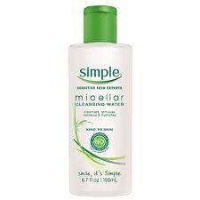 Simple Cleansing Micellar Water 6.70 oz (Pack of 3)