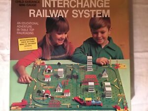 INTERCHANGE RAILWAY SYSTEM BY CHILD GUIDANCE VINTAGE 1960s