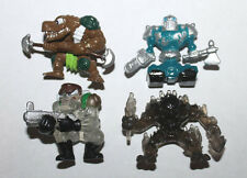 Moose Fistful of Power Mini Action Figure Lot #2 of 4x Figures