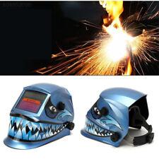 Shark Solar Auto Darkening Welding Helmet Arc Tig Mig Welder Grinding Face Mask