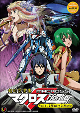 DVD ANIME Macross Frontier Vol.1-25 End +2 Movie Eng Subs All Region + FREE DVD