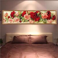 Diamond Paintings 5D DIY Rose Floral Pattern Three Dimensional Resin Handicrafts