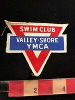 Vintage YMCA VALLEY-SHORE SWIM Patch 03P7