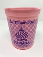 Trump Coin Chip Slot Machine Cup Trump Taj Mahal Casino Atlantic City RARE M57