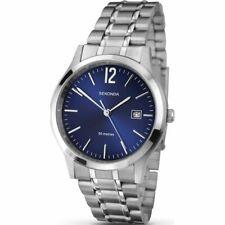 Mens Sekonda Watch N3728 Date Display Blue Face NEW Boxed 2 Year Guarantee
