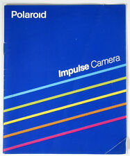 POLAROID IMPULSE CAMERA MANUAL