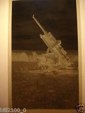 02. Aisne . Château-Thierry . photo négatif . guerre 1939-1945 . canon