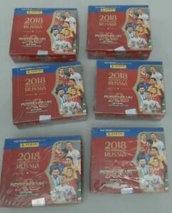 2018 Panini Adrenalyn XL World Cup Russia  06 Sealed Boxes ⚽️🔥 ROOKIE MBAPPE