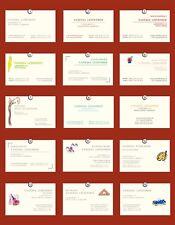 50  V I S I T E N K A R T E N, Design-Auswahl,Bedruckstof:GardaPat 13 Kiara
