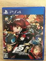 Persona 5 The Royal Sony Playstation 4 PS4 Games From Japan Tracking USED