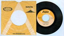 Philippines NORA AUNOR Little Bird OPM 45 rpm w/ cover Record
