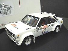 FIAT 131 Abarth Rallye San Remo Röhrl 1980 Jolly Club Sieger Winner Trofeu 1:43