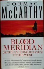 Cormac McCarthy~Blood Meridian~1989 Picador Press 1st British Edition/1st Print