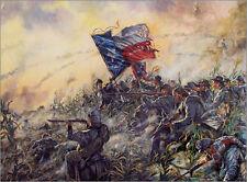 Mark Maritato Civil War HEART OF TEXAS Hood's Antietam Signed Giclée Art Print