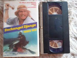 DSCHUNGEL DJANGO Original VMP VHS 80er-Kult Videokassette Castellari / Nero
