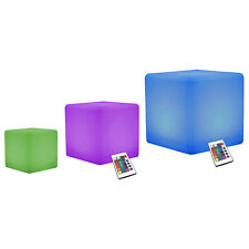 Led Stato D'Animo Cubo Lampadine Cambia Colore Luci, Set di 3 da Pk Green